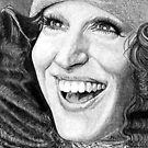 Bette Midler @ www.KeithMcDowellArtist.com by  Keith McDowell, Artist
