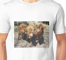 Iris, Roscoe, and Hugo  21 May 2015 Unisex T-Shirt