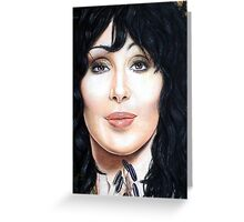 Cher Color Pencil @ www.KeithMcDowellArtist.com Greeting Card