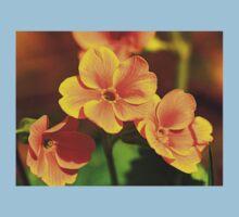 Yellow Flowers One Piece - Short Sleeve