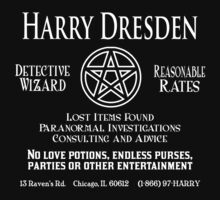 Harry Dresden - Wizard Detective Kids Clothes