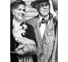 Frank Lloyd Wright @ www.KeithMcDowellArtist.com  Photographic Print