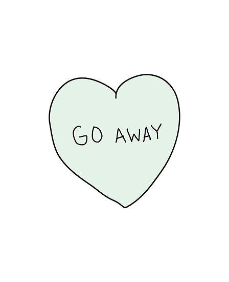 Go Away Heart by laurenschroer