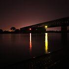 The Rhein by Night by James Hennman