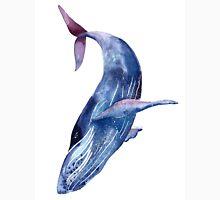 Whale art, watercolor whale, blue whale, purple whale Unisex T-Shirt