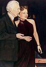 Anne Baxter Color Pencil @ www.KeithMcDowellArtist.com by © Keith McDowell, Artist