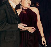 Anne Baxter Color Pencil @ www.KeithMcDowellArtist.com by © Keith McDowell, Artist