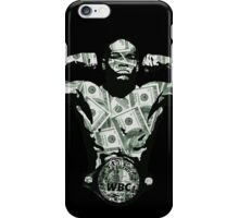 MONEY MAYWEATHER iPhone Case/Skin