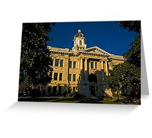 Missoula County Court House Greeting Card