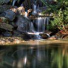 Spiral Falls. by James Ingham