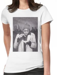 Tyrone Biggums (Dave Chappelle) in the Tenderloin Womens Fitted T-Shirt