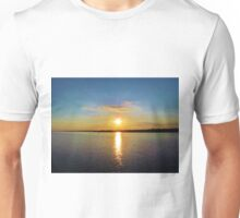 Star-burst Sunset Unisex T-Shirt