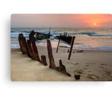 Red Dawn • Dicky Beach • Queensland Canvas Print