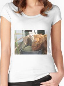 Gabriel, Rocky, Anthony, and Vincent  01 May 2015 Women's Fitted Scoop T-Shirt