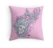 I Long for the Freedom of the Sea Throw Pillow