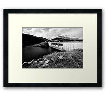 Guthega Dam Framed Print