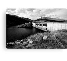 Guthega Dam Canvas Print