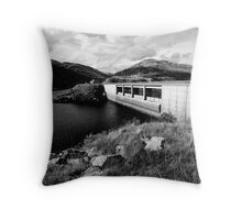 Guthega Dam Throw Pillow
