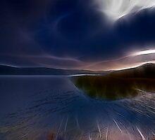 Autum Lake VII by Jurgen  Schulz
