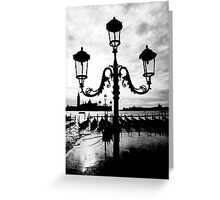OUTER BANKS OF VENICE  Greeting Card