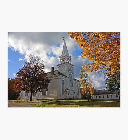 Franklin Congregational Photographic Print