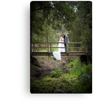 Mr and Mrs... Canvas Print