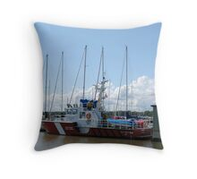 Gimli Coast Guard Vessel Throw Pillow