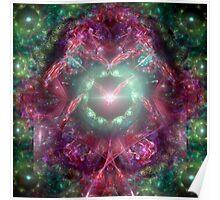 Flight Of Angels Fractal Poster