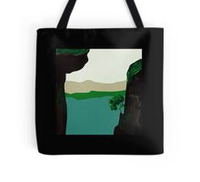 New skirts, BLACK FOREST art, the Cliffs Tote Bag