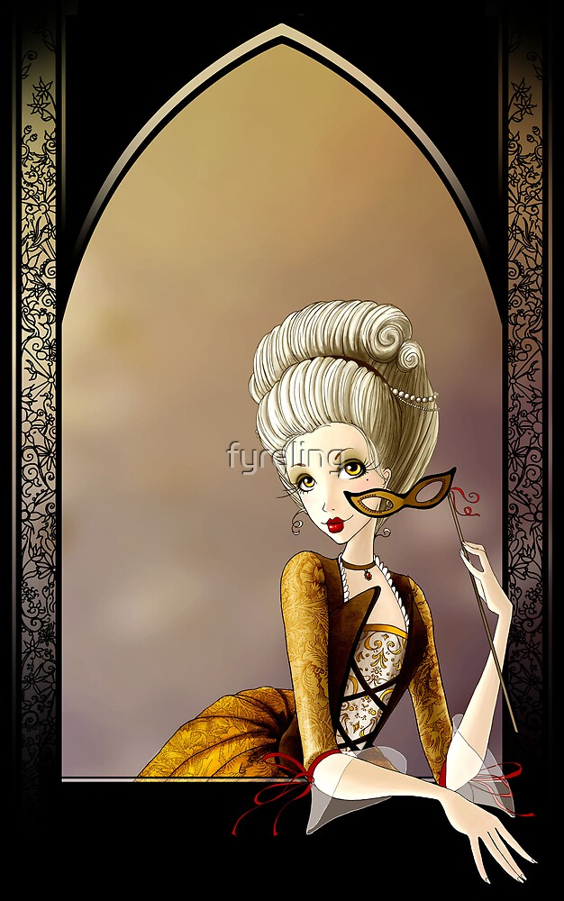 A Lady of the Court by Lisa Furze