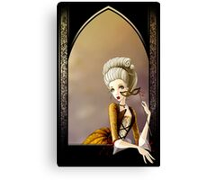 A Lady of the Court Canvas Print