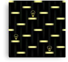 Idea: Light On Canvas Print