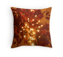 Starlit Tree Throw Pillow