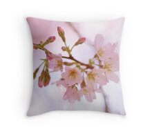 Flowers are the sweetest things God ever made, and forgot to put a soul into... Throw Pillow