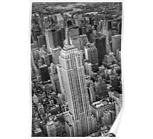 Empire State Building Aerial Poster