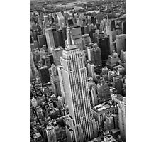 Empire State Building Aerial Photographic Print