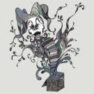 Jack In The Box, Gray by Octavio Velazquez
