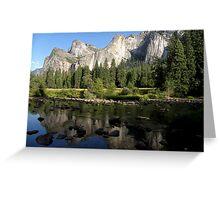 Heaven on Earth ~ Yosemite Greeting Card