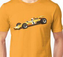 Orange Grand Prix Racer Unisex T-Shirt
