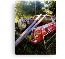 Red Rusty Canvas Print
