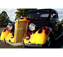 Flamin Yellow Photographic Print