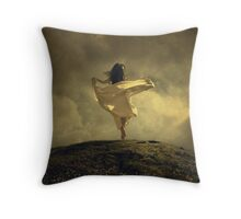 The Tulip Dance Throw Pillow
