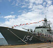 HMAS Parramatta by reflector