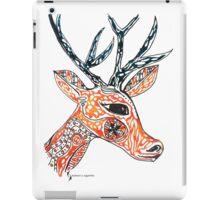 Tribal Deer © feathers & eggshells - wild new things are born iPad Case/Skin