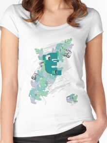 Pattern shirt Women's Fitted Scoop T-Shirt