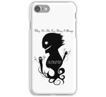 Peoples Greatest Fears iPhone Case/Skin