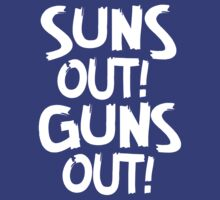 Suns Out Guns Out shirt, tank top and more by HawaiianGuy