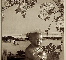 Still Life - Oriental Musician by Karen Eaton