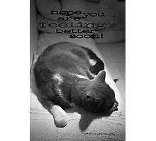 Hope You Are Feeling Better Soon © Vicki Ferrari Photographic Print