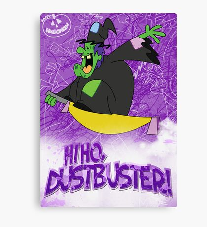 Halloween Poster 2009 - Hi Ho Dustbuster Canvas Print